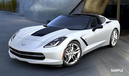 2016 Arctic White Coupe Corvette