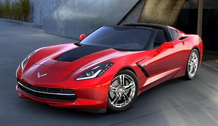2016 Torch Red Coupe Corvette