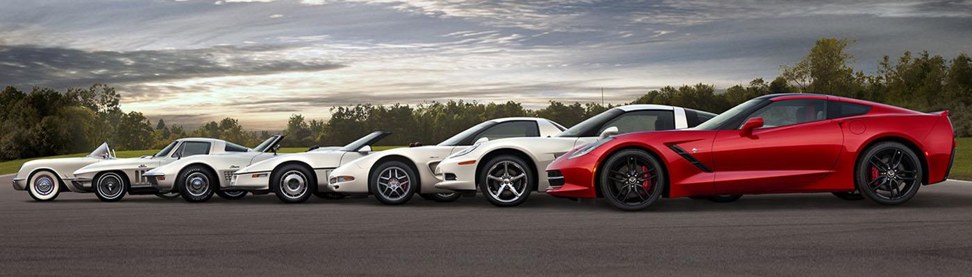 Seven Generations of Corvettes