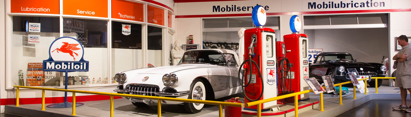 Visit the Museum | Mobil Gas Station Exhibit