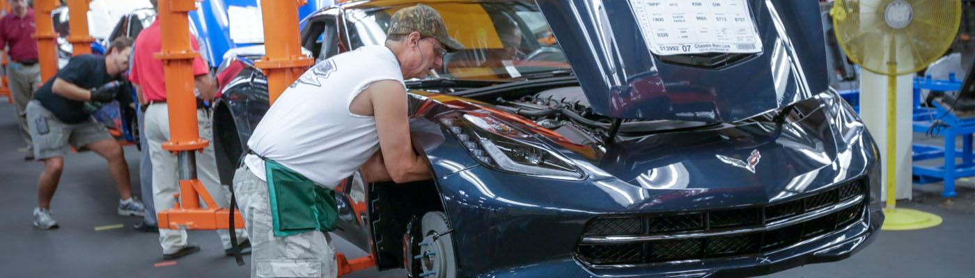 Corvette Plant Tour