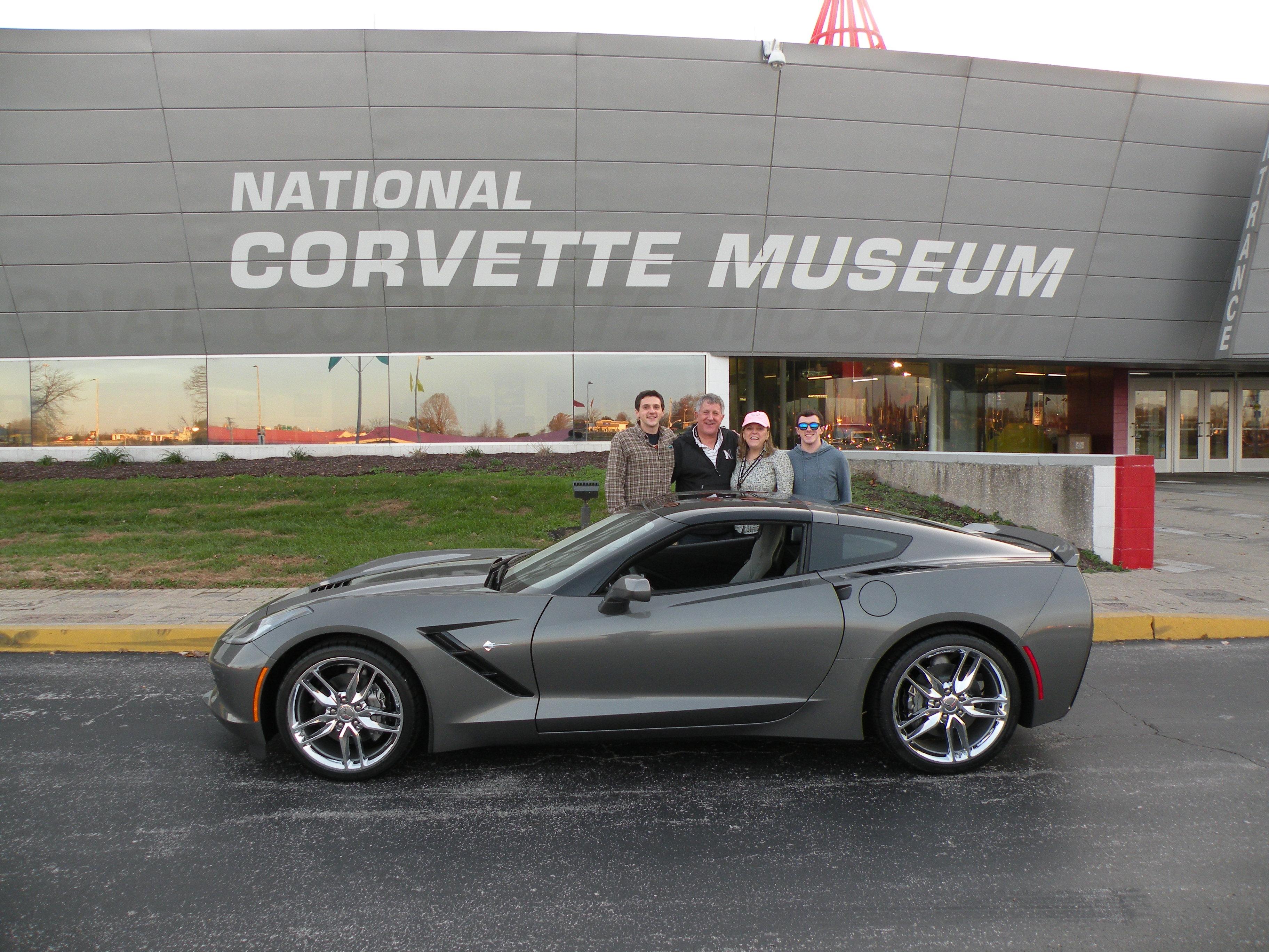 2015 Raffle Winners National Corvette Museum