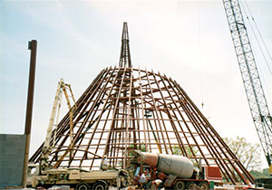 Museum Skydome Construction