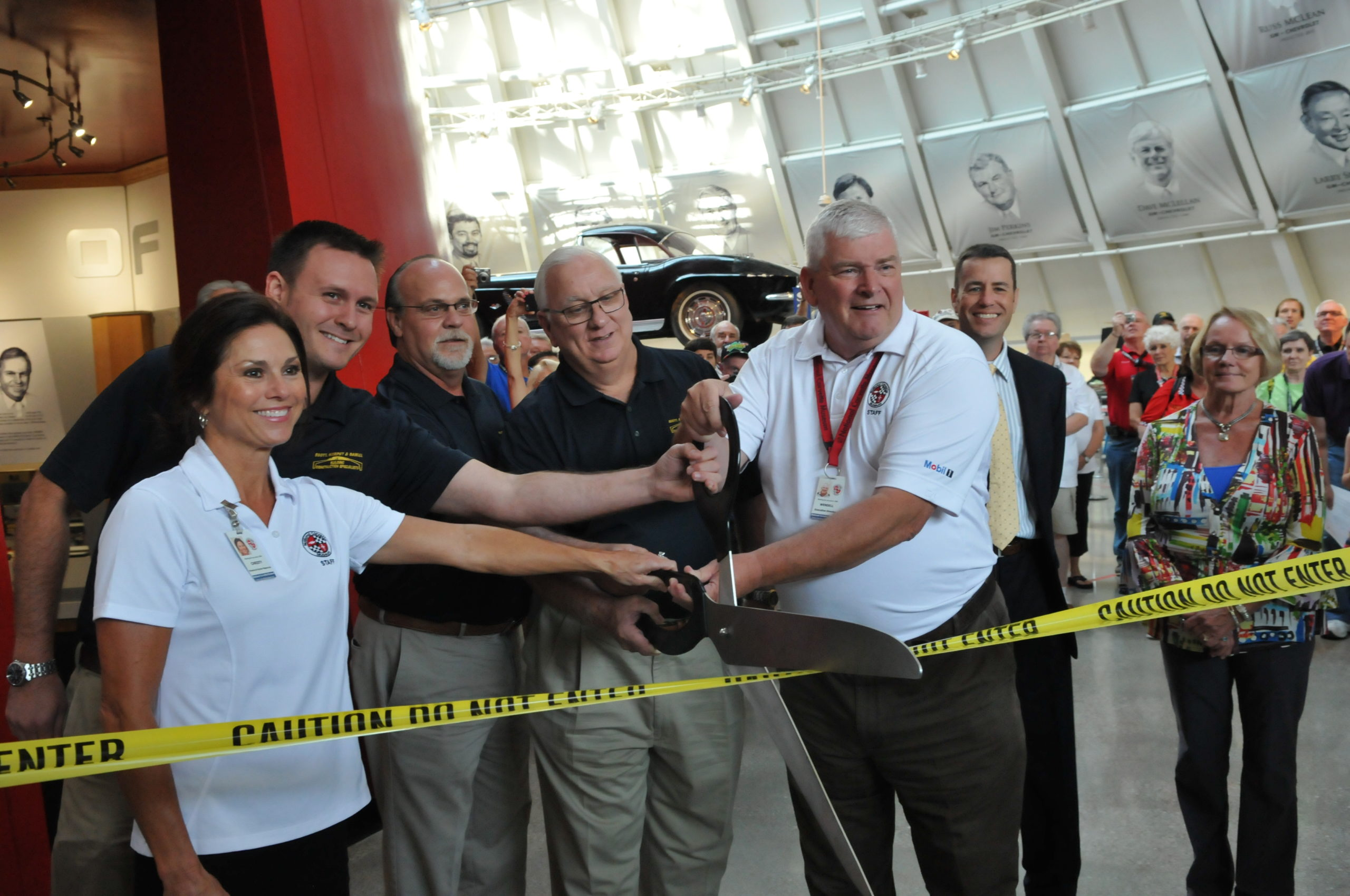 National Corvette Museum Holds Ribbon Cutting for Skydome Post Sinkhole Construction