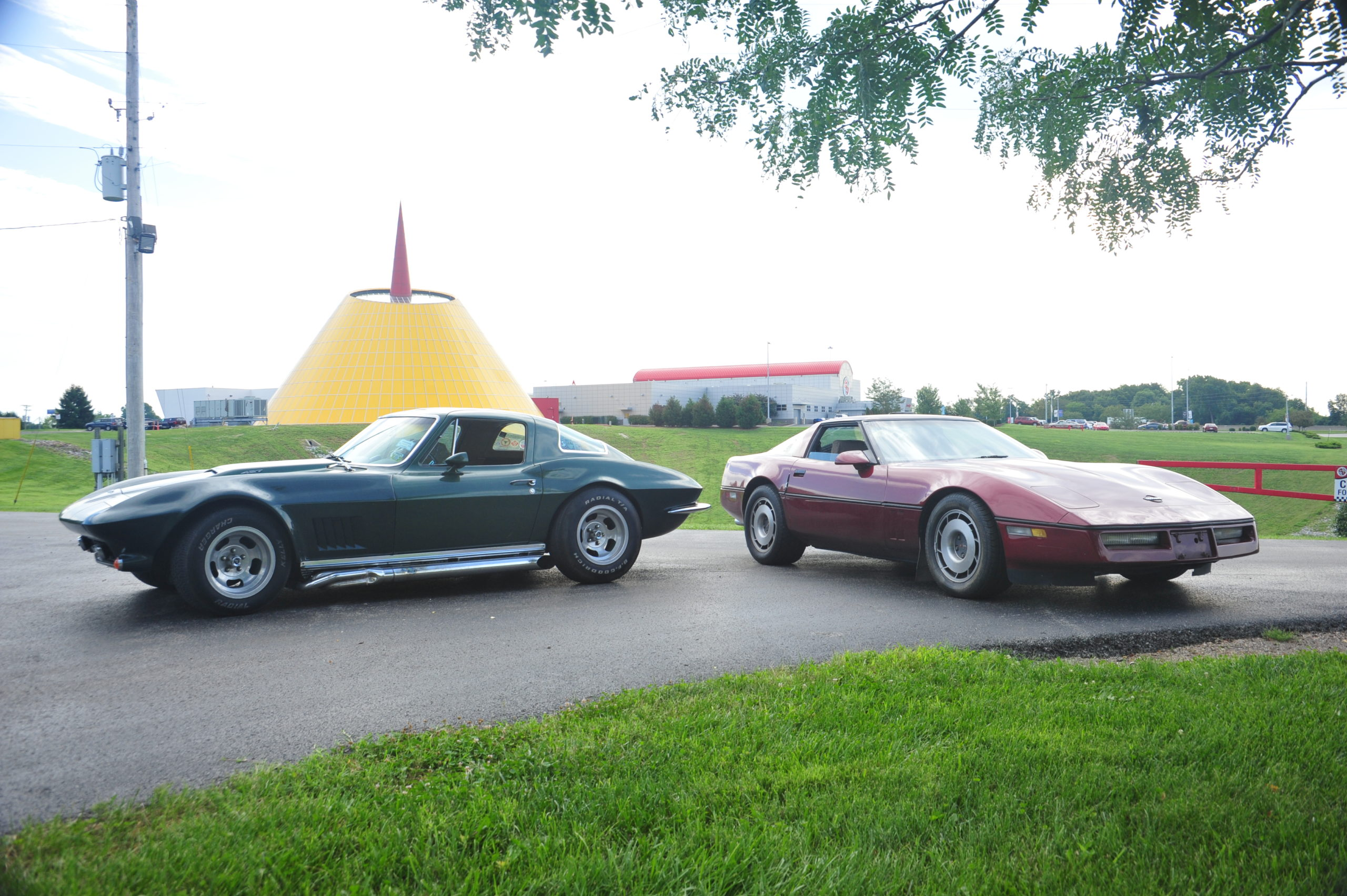 Museum Gifted Two Corvettes