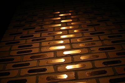 Flint Brick Wall