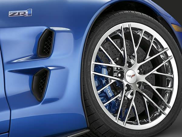 CHEVROLET ENTERS THE WORLD OF SUPERCARS WITH 2009 CORVETTE ZR1
