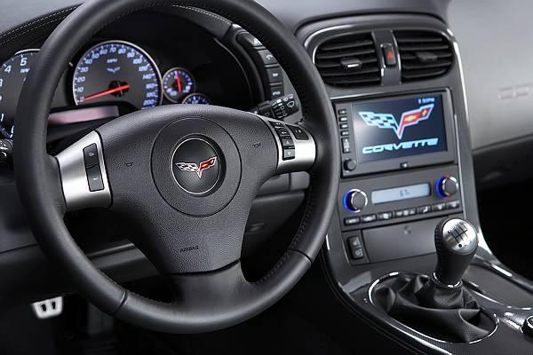 Image on Corvette Engine Block