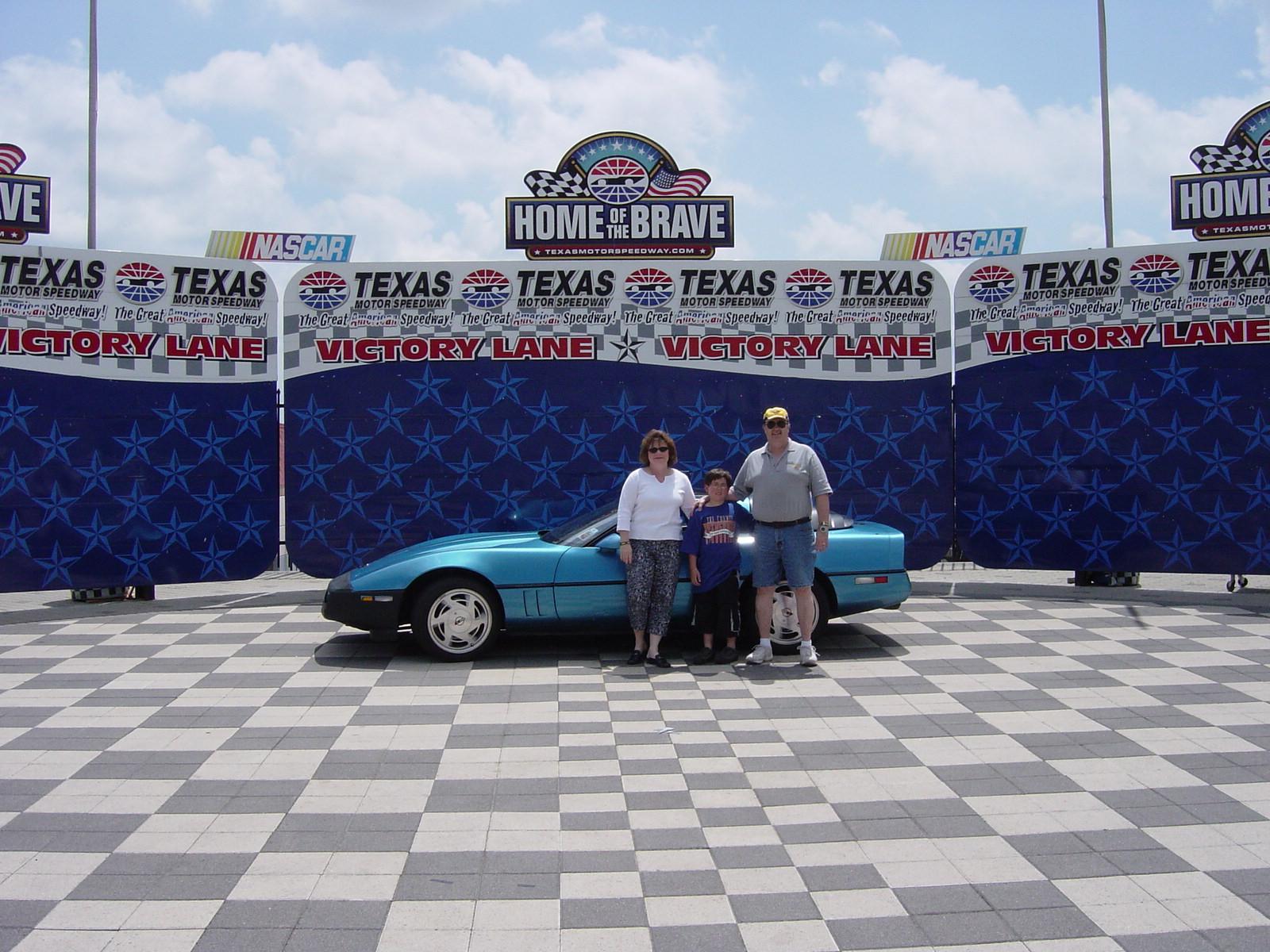 Dodrill Family with Corvette