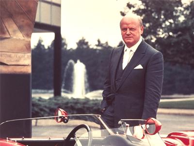 Bill Mitchell - Corvette Hall of Fame