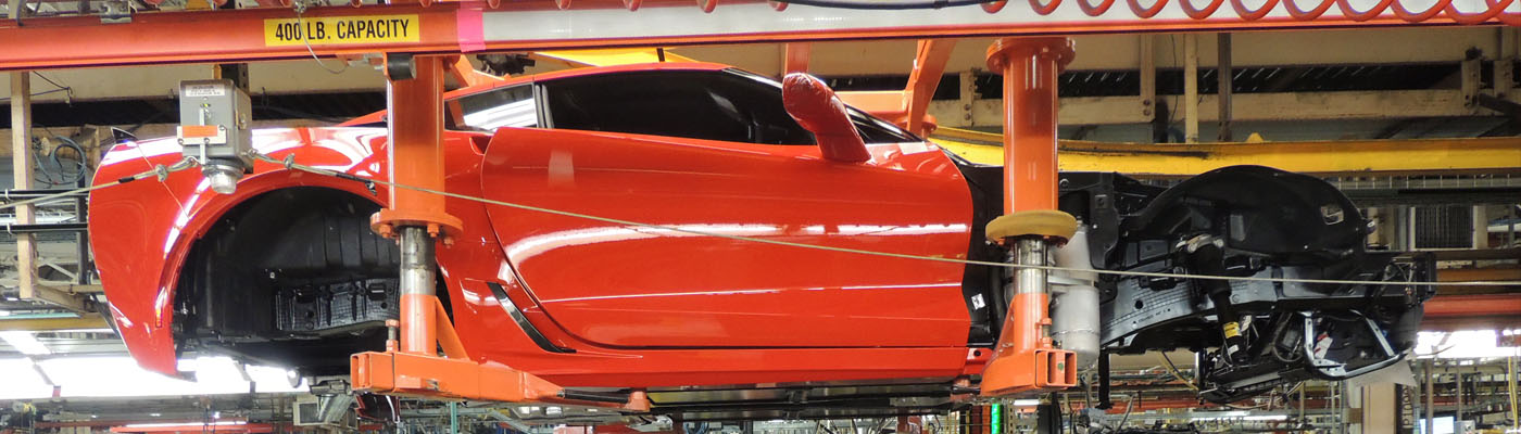 GM Corvette Assembly Plant Photo Album
