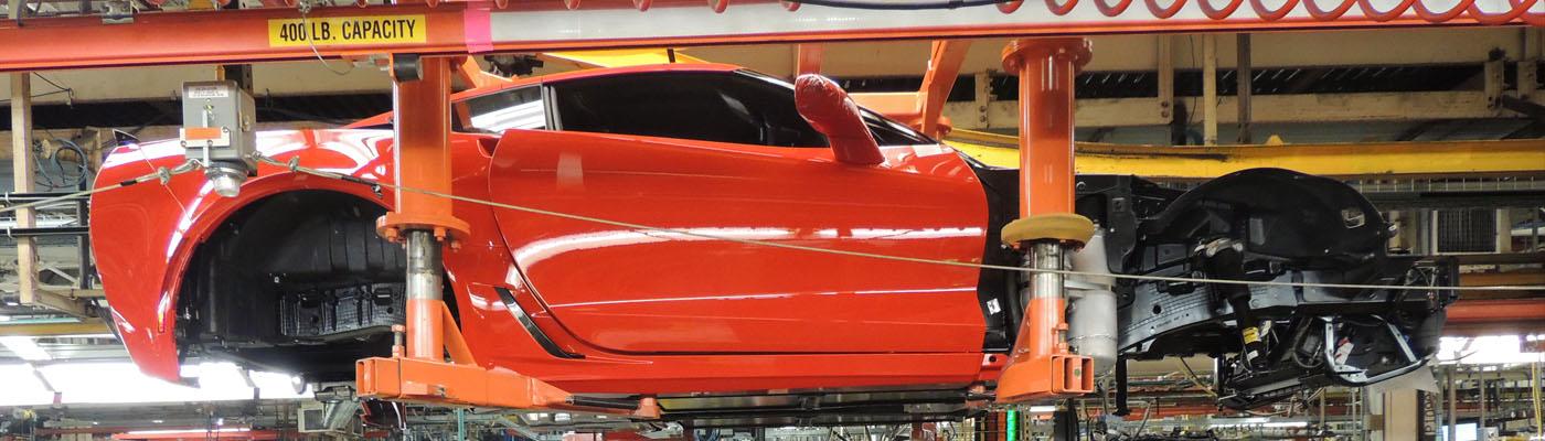 GM Corvette Assembly Plant Photo Album