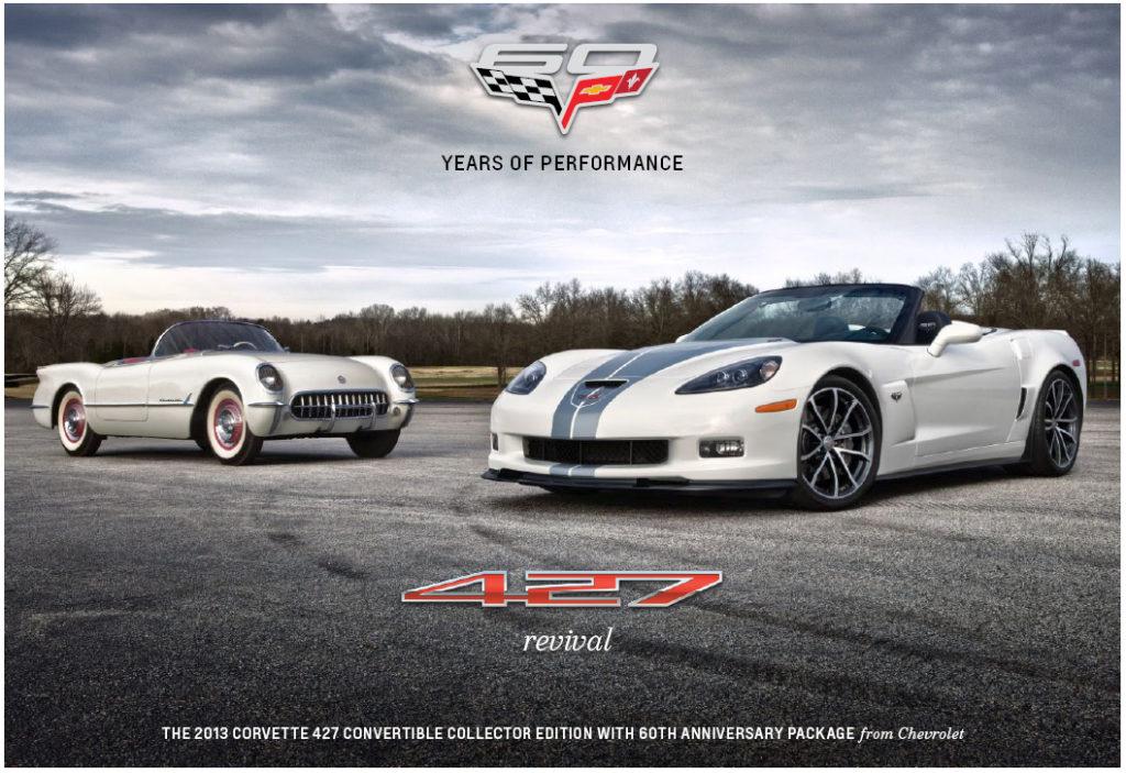 2013 427 Corvette 60th Anniversary