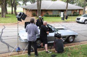 Filming Doritos Commercial