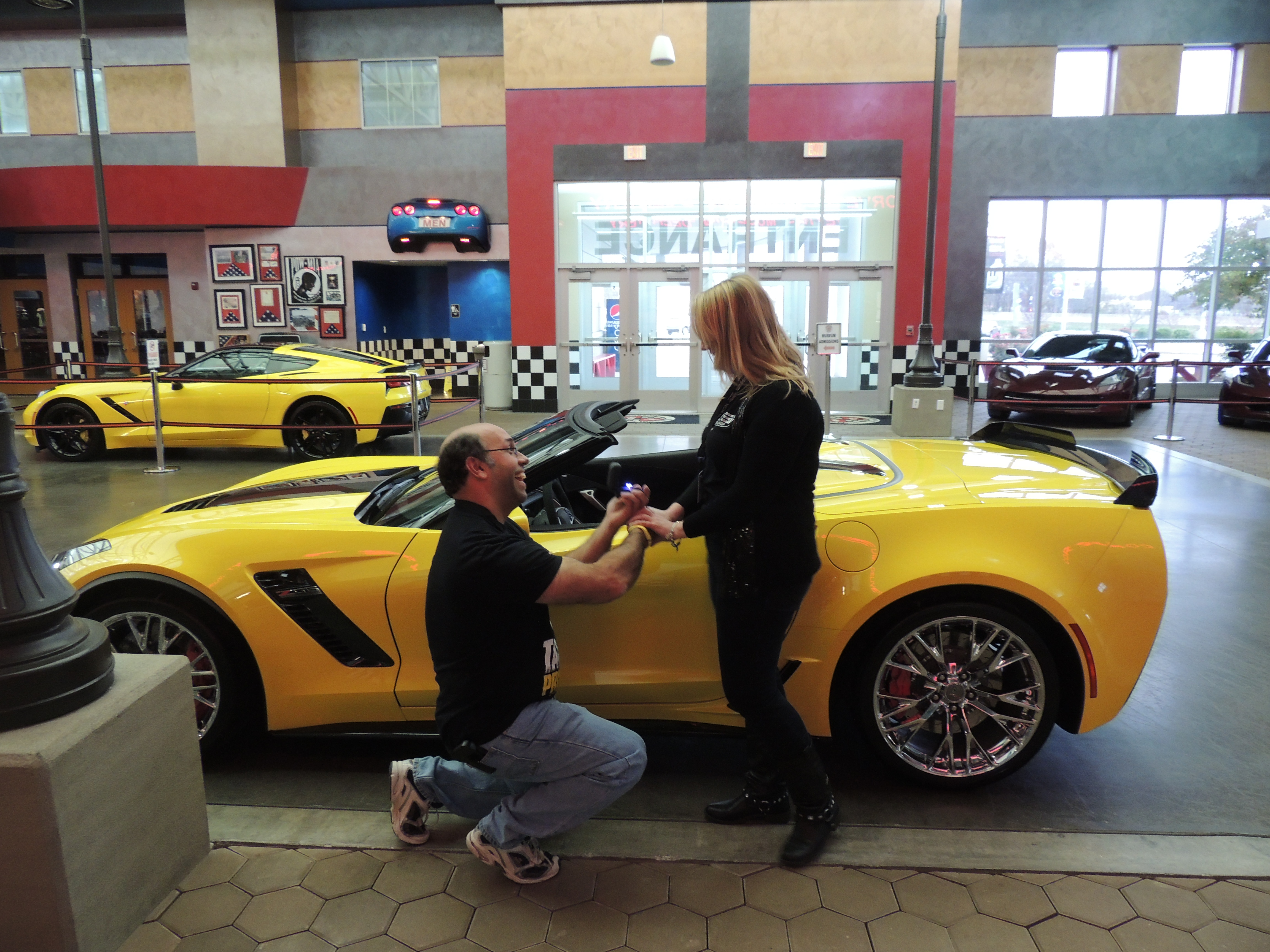 National Corvette Museum >> Delivery Customer Gets More Than A Car National Corvette