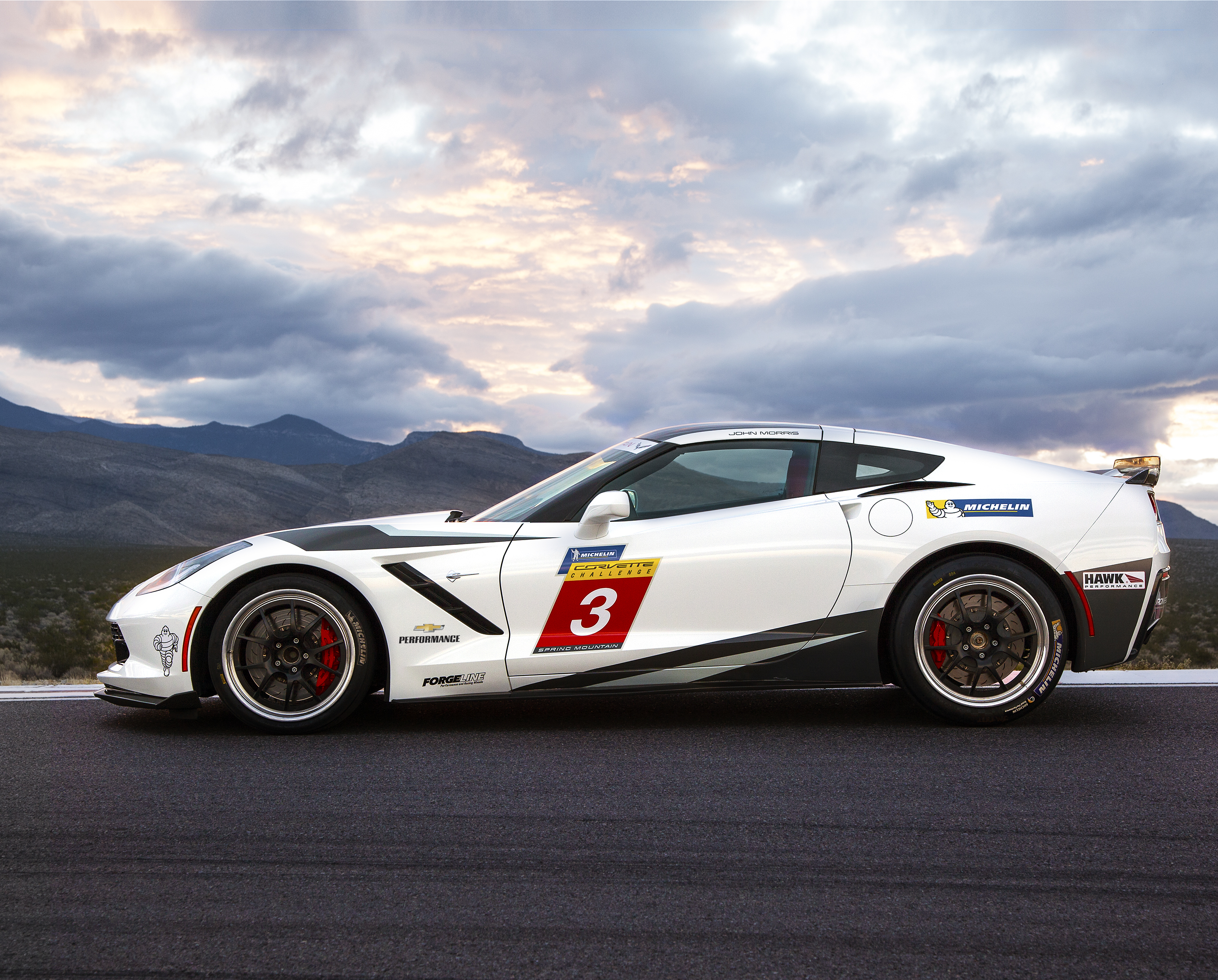 Michelin Corvette Challenge To Debut At Spring Mountain