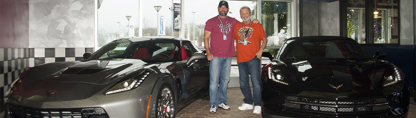 Son Gifts Dad a Corvette