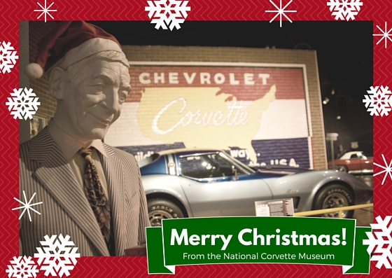 Merry Christmas from the Corvette Museum!