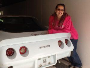 1978 25th Anniversary Corvette Paula Lizotte