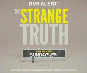 The Strange Truth DVR Alert