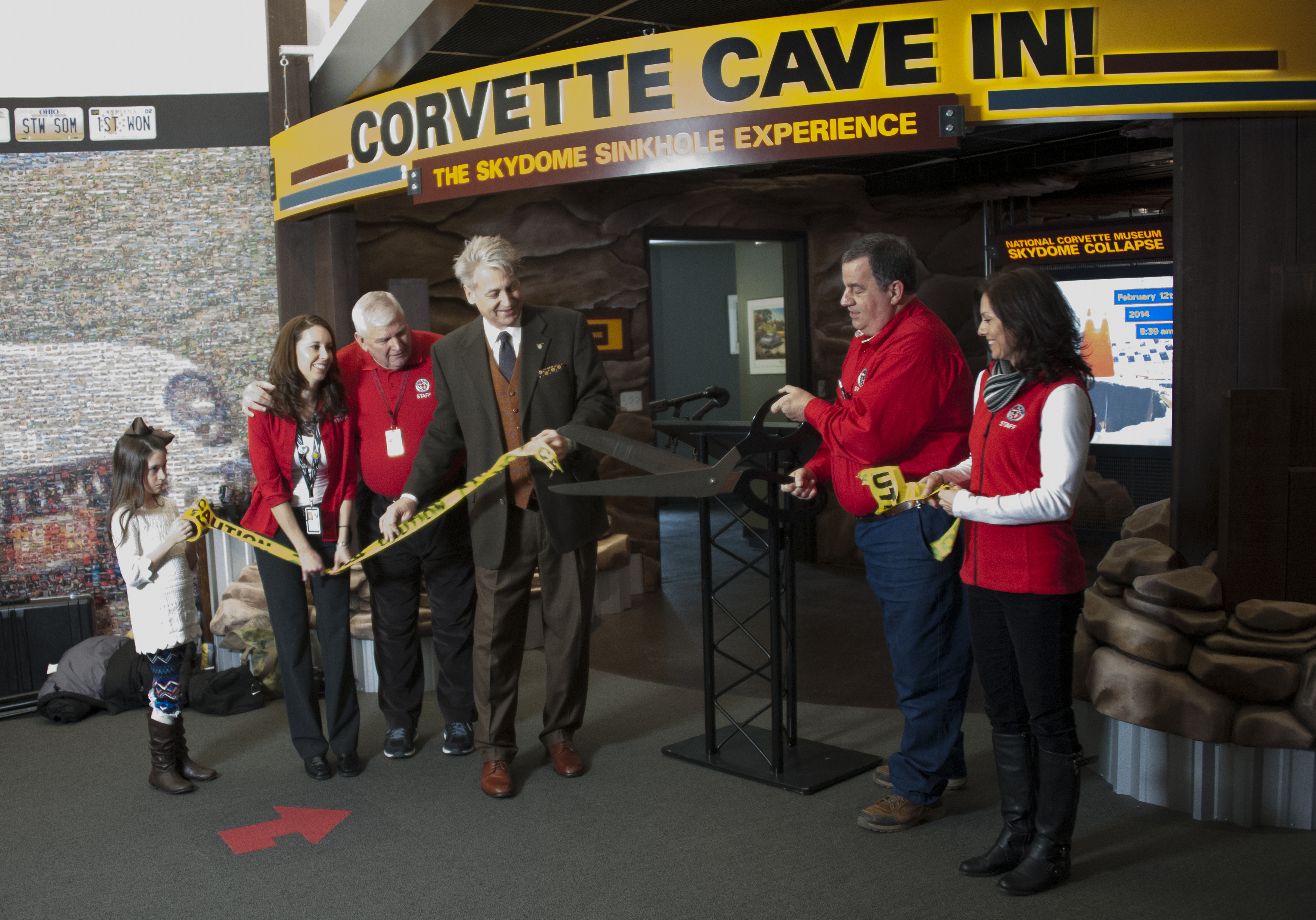 National Corvette Museum >> Corvette Cave In Exhibit Opens On Two Year Anniversary Of Museum