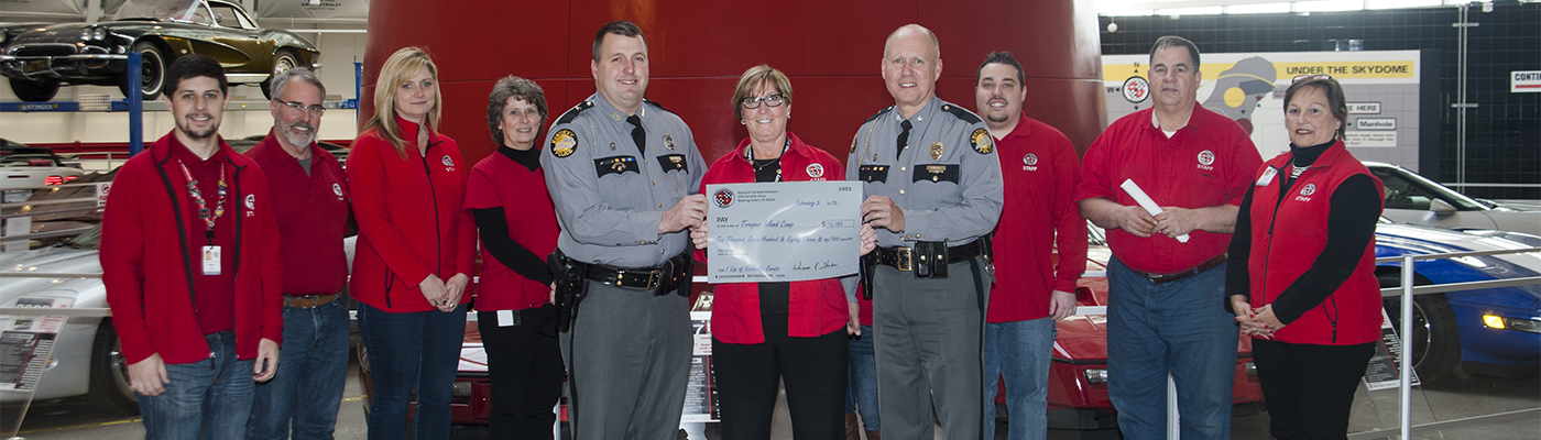 Kentucky State Police Trooper Island Check Presentation