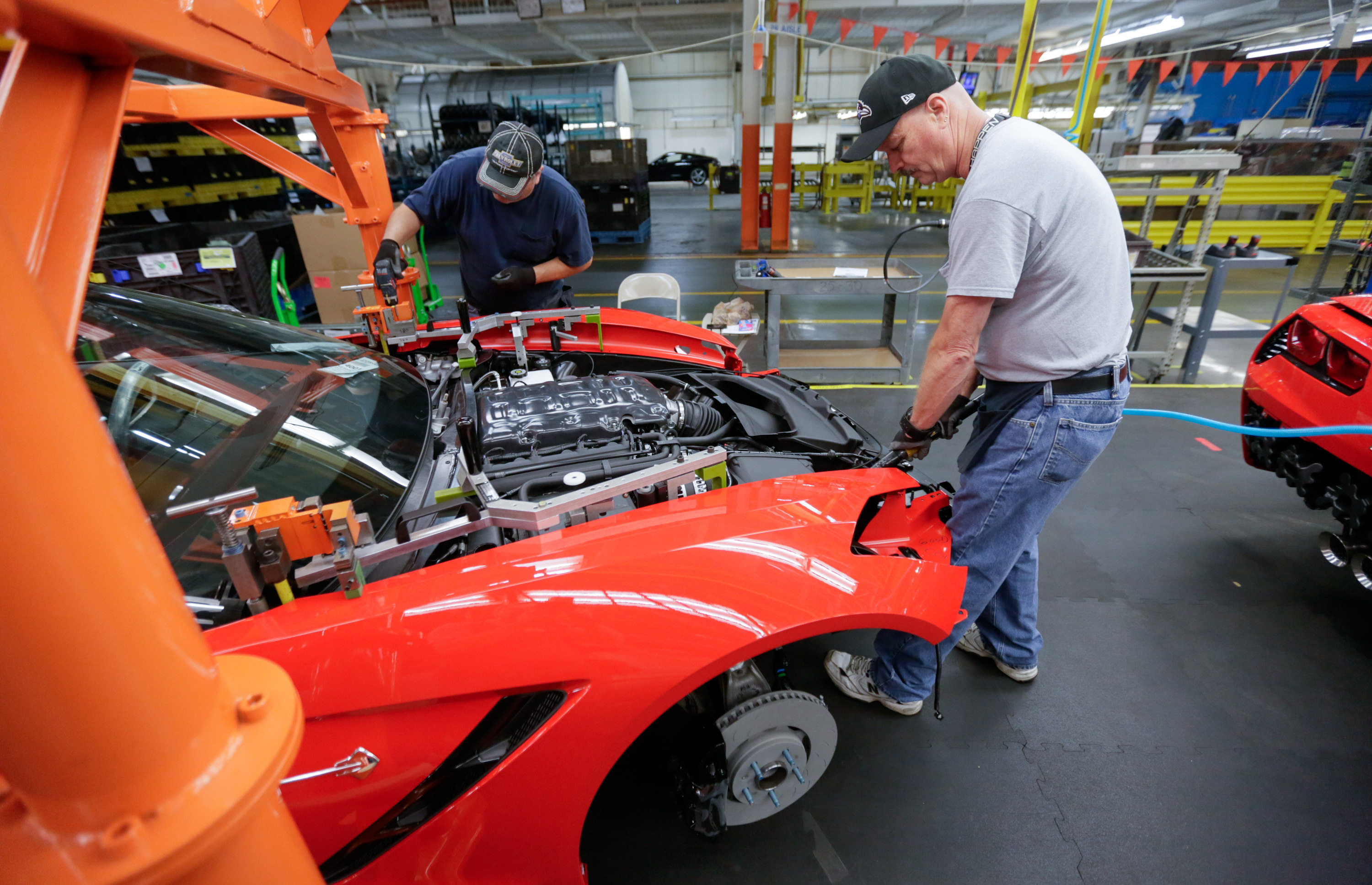 Corvette Factory Tours In Bowling Green Ky