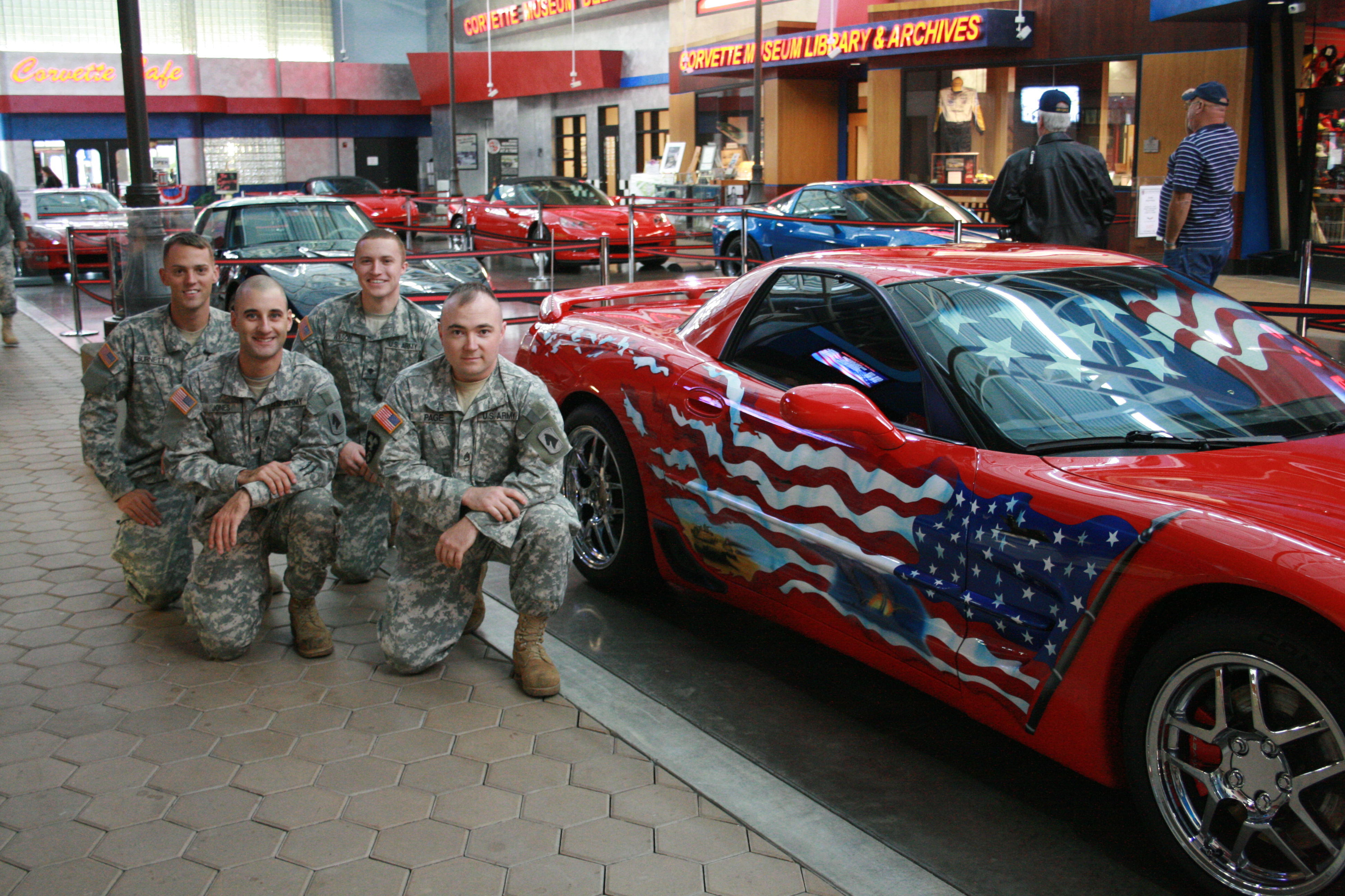 chevrolet buick and gmc expand military discounts national corvette museum. Black Bedroom Furniture Sets. Home Design Ideas