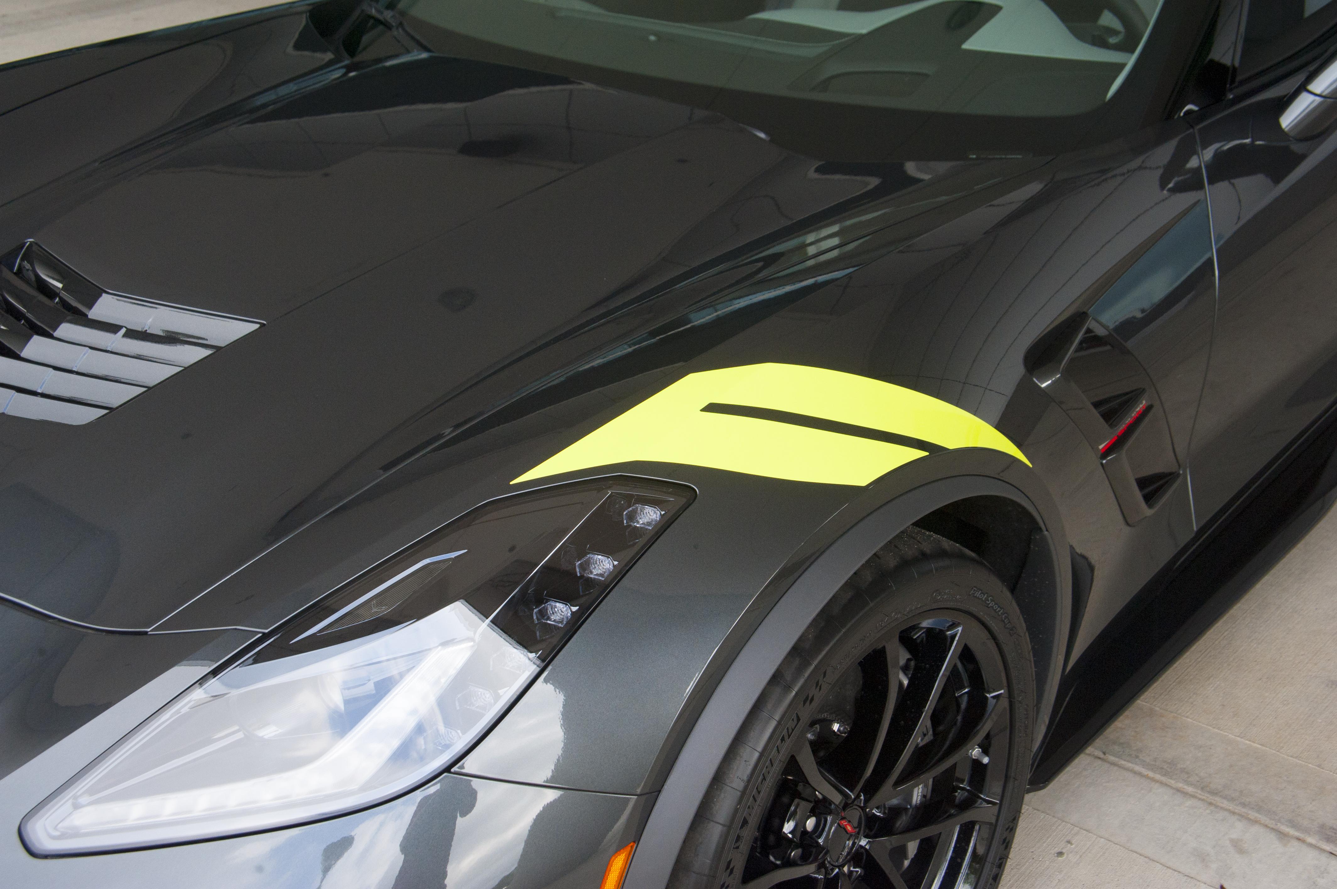 Four New 2017 Corvette Colors Showcased At Michelin Ncm