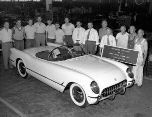 The first 1953 Corvette in Flint, MI.