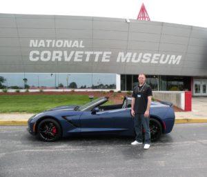 2016 Admiral Blue Corvette