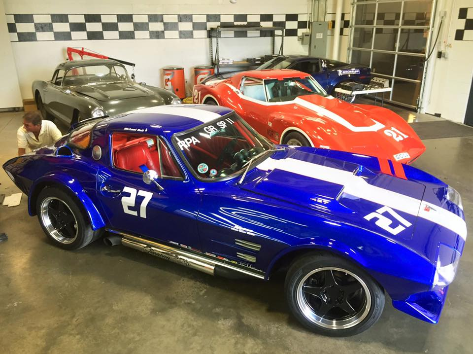 Two Racers Join Museums Performance Area National