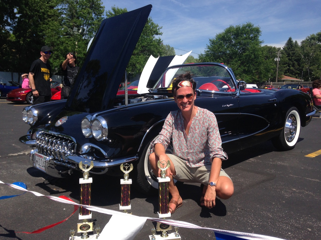 Jamie Fletcher Restores Her Dad's Corvette