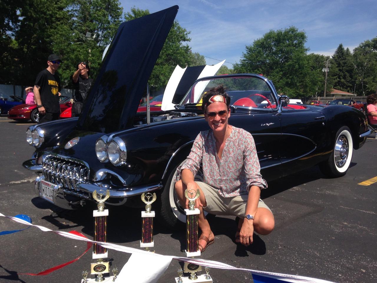 Jamie Fletcher Restores Her Dad's Corvette