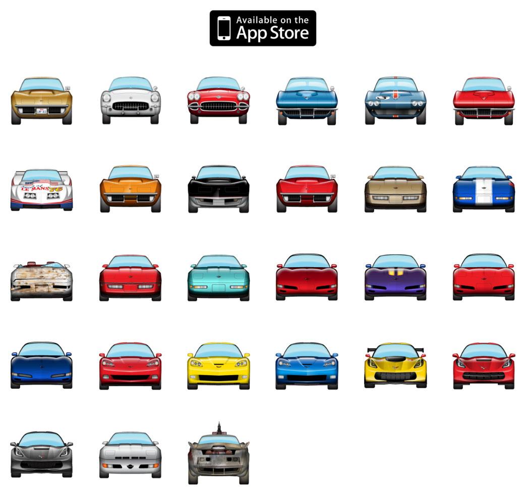 Have Ios10 Corvette Emojis Have Arrived National