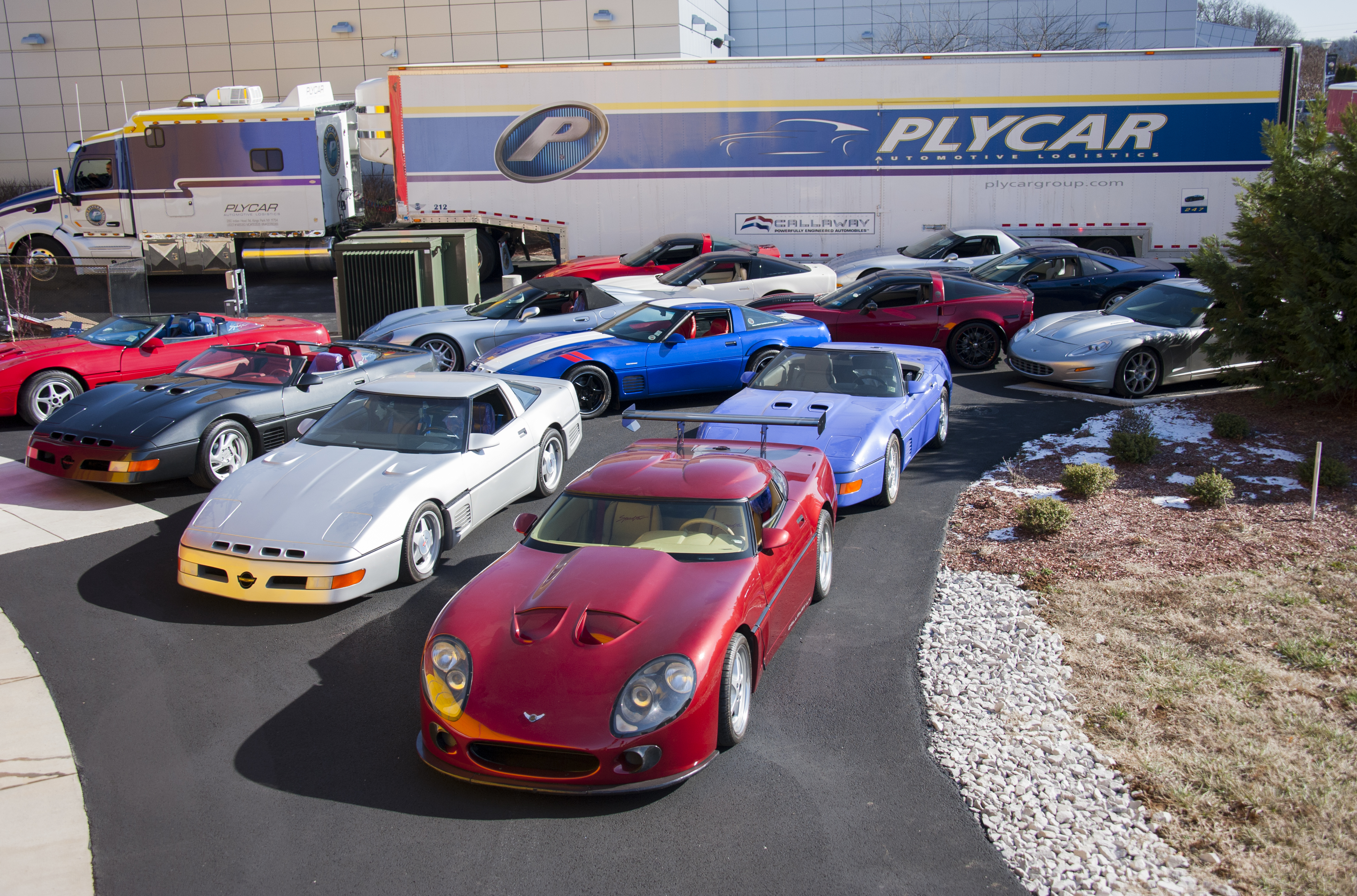 Exhibit Celebrates 30 Years of Callaway Corvettes – National ...