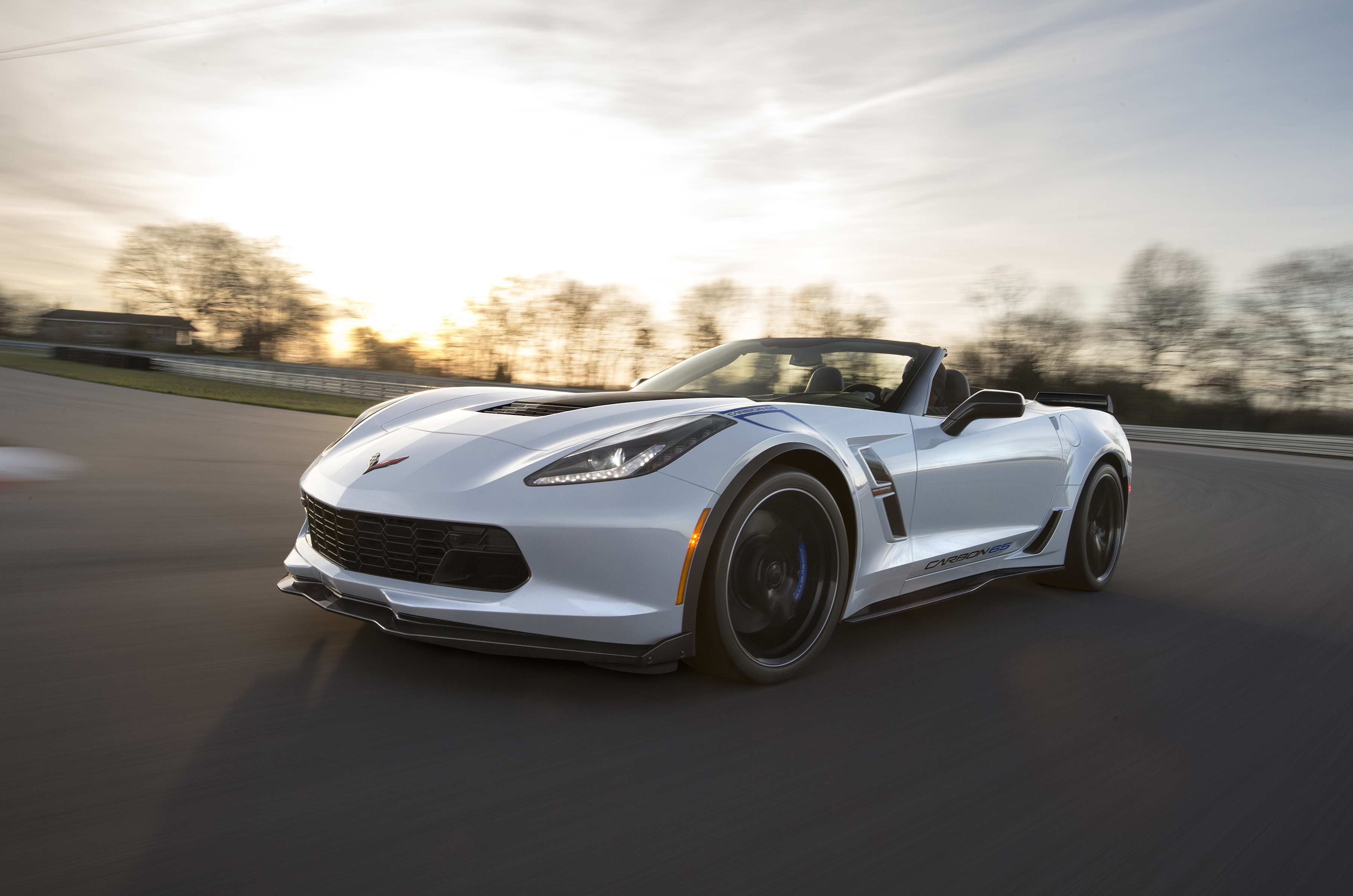 Available On The Grand Sport 3lt Trim Carbon 65 Edition Celebrates Years Of Corvette With A New Ceramic Matrix Gray Paint Color And Visible