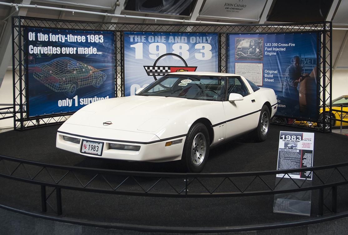 1983 Corvette Specs National Corvette Museum