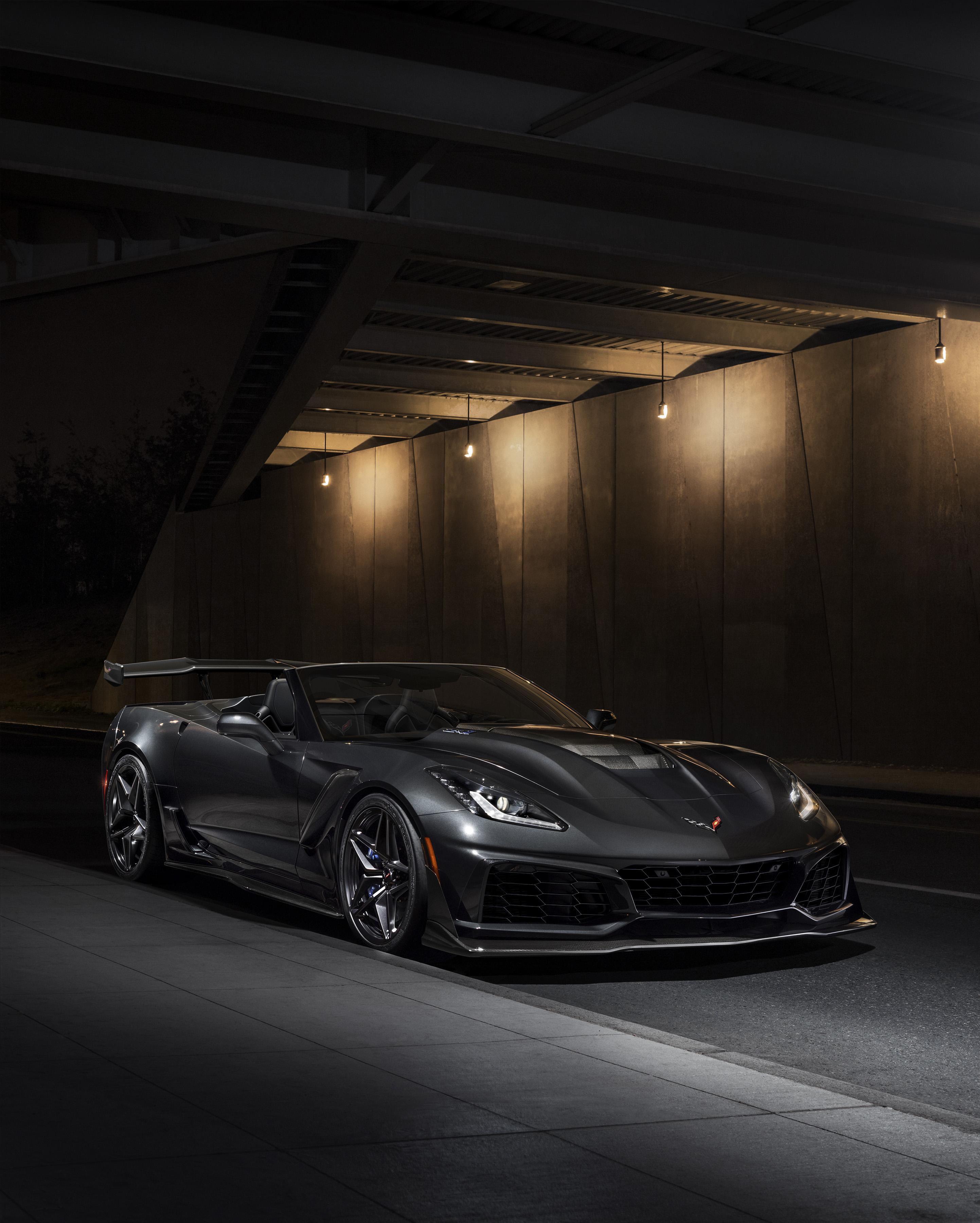 first modern era corvette zr1 convertible makes debut national corvette museum. Black Bedroom Furniture Sets. Home Design Ideas