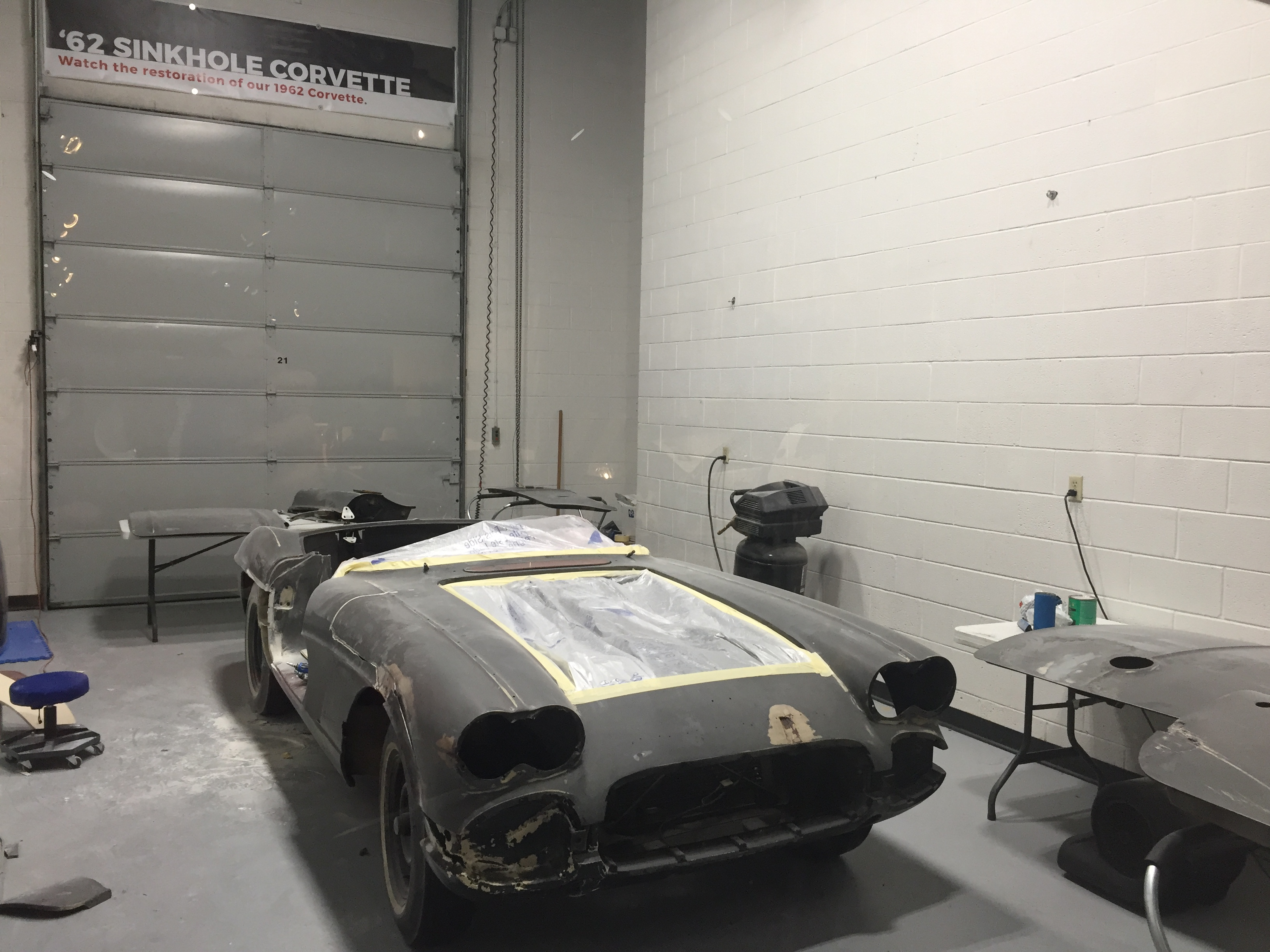 1962 Corvette restoration