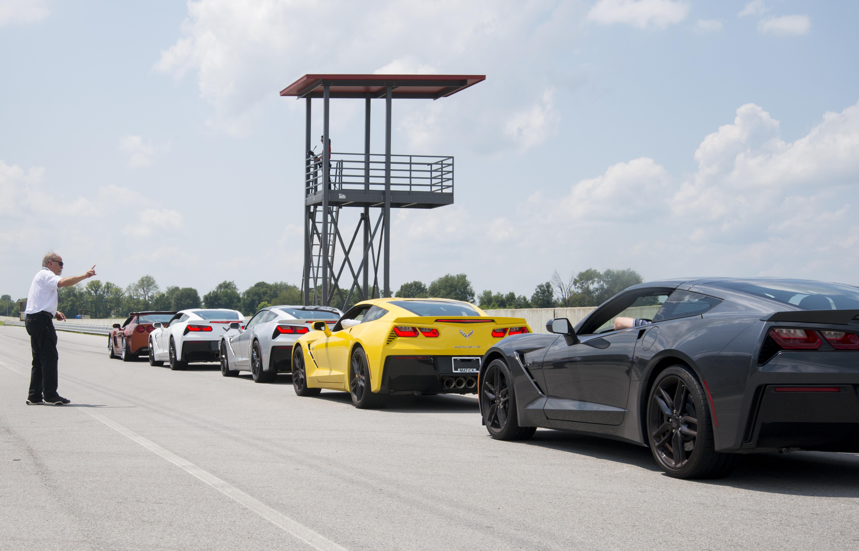 Corvettes on the Grid