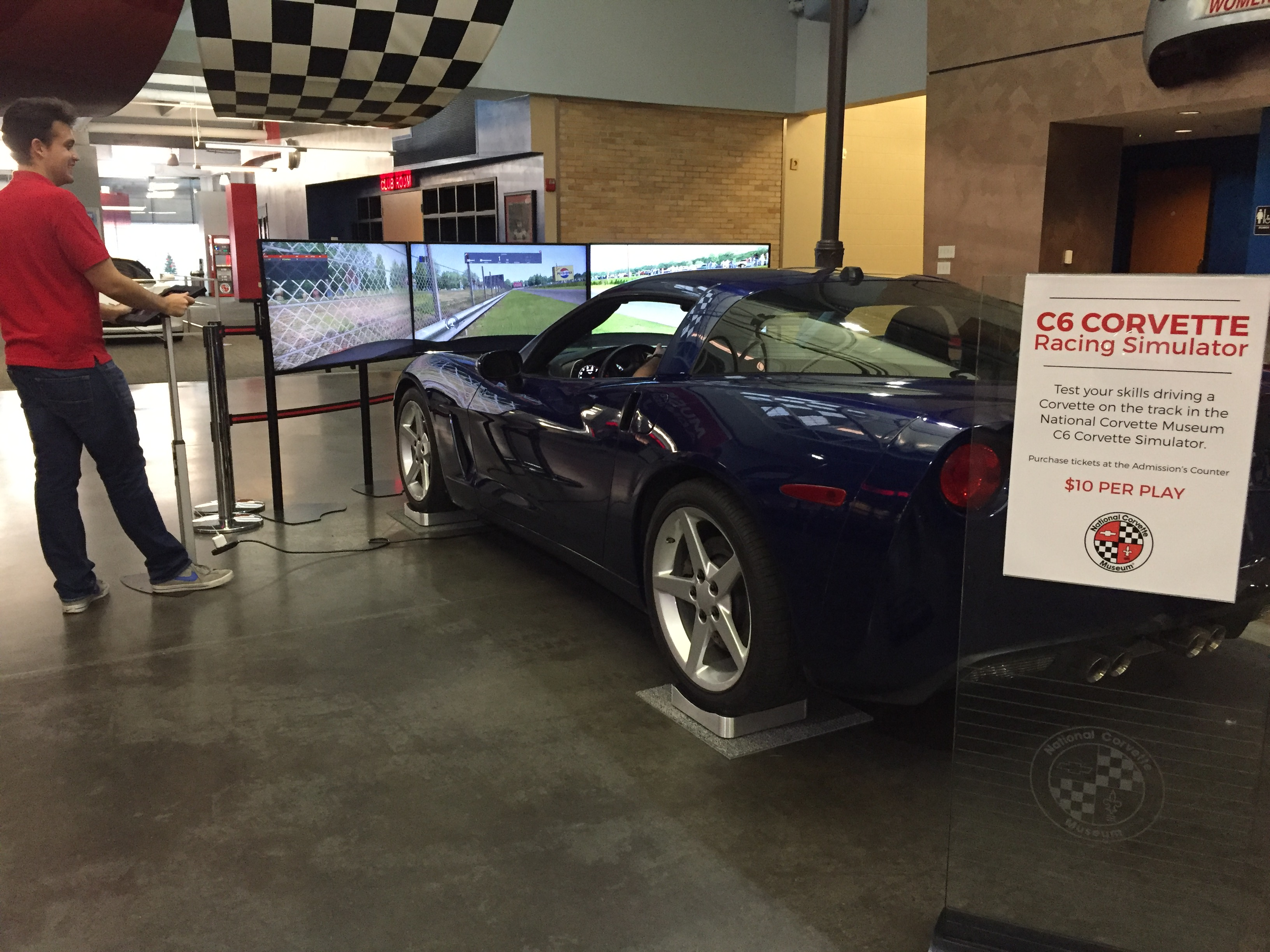National Corvette Museum >> National Corvette Museum Offers New Racing Experience National