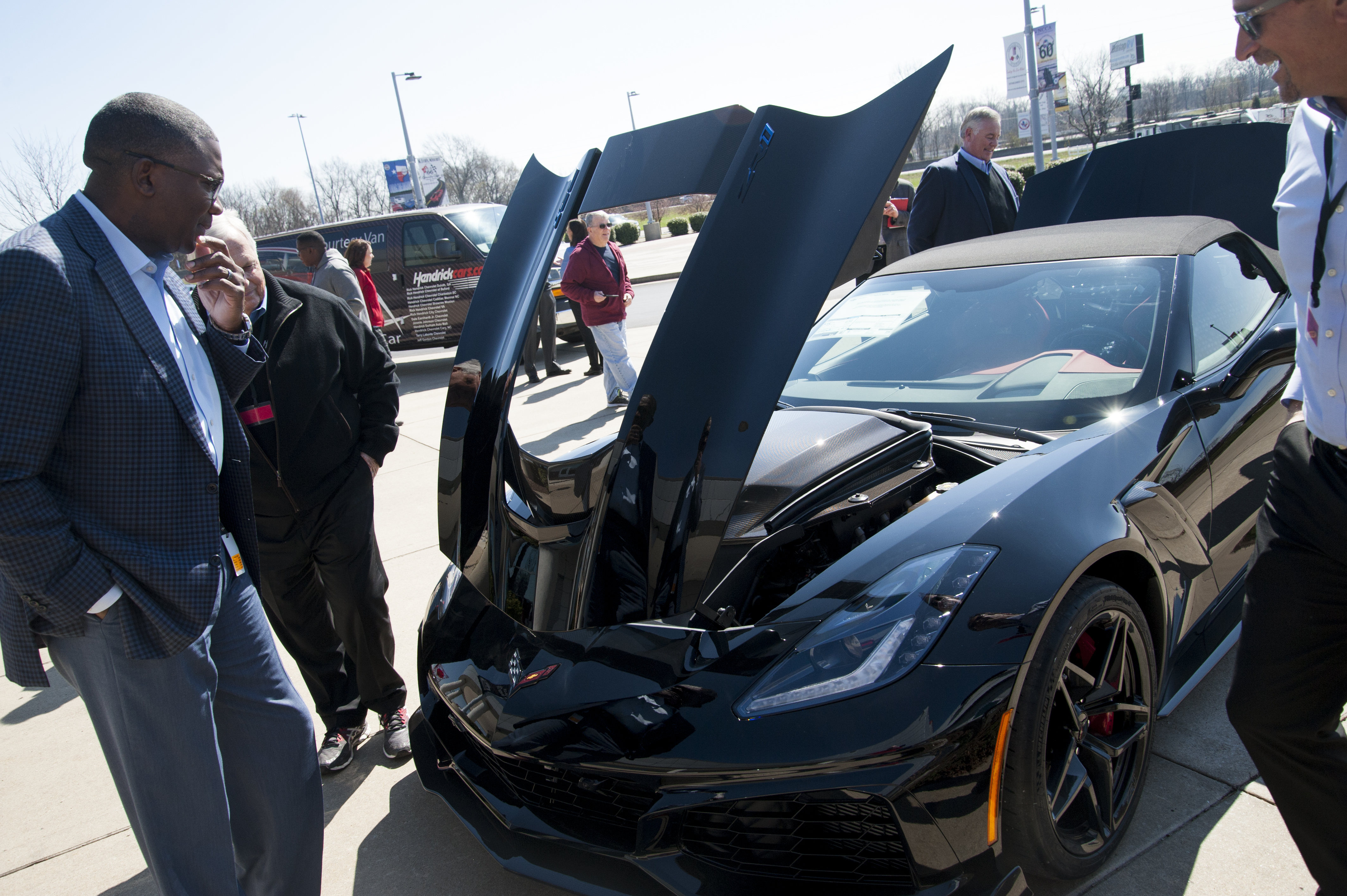 Rick Hendrick Visits NCM and the First Retail 2019 ZR1 – National