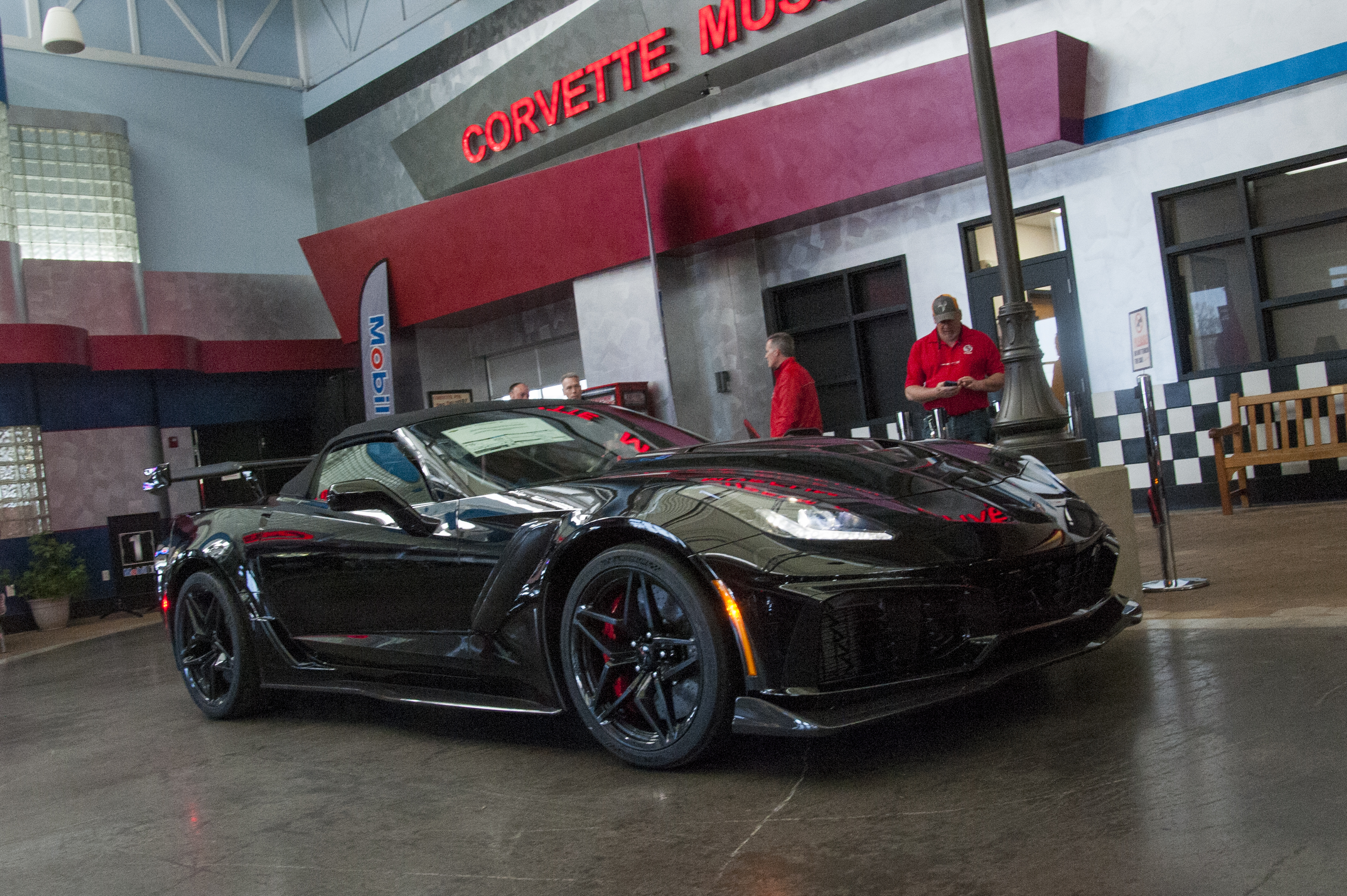 Rick Hendrick Visits NCM And The First Retail 2019 ZR1