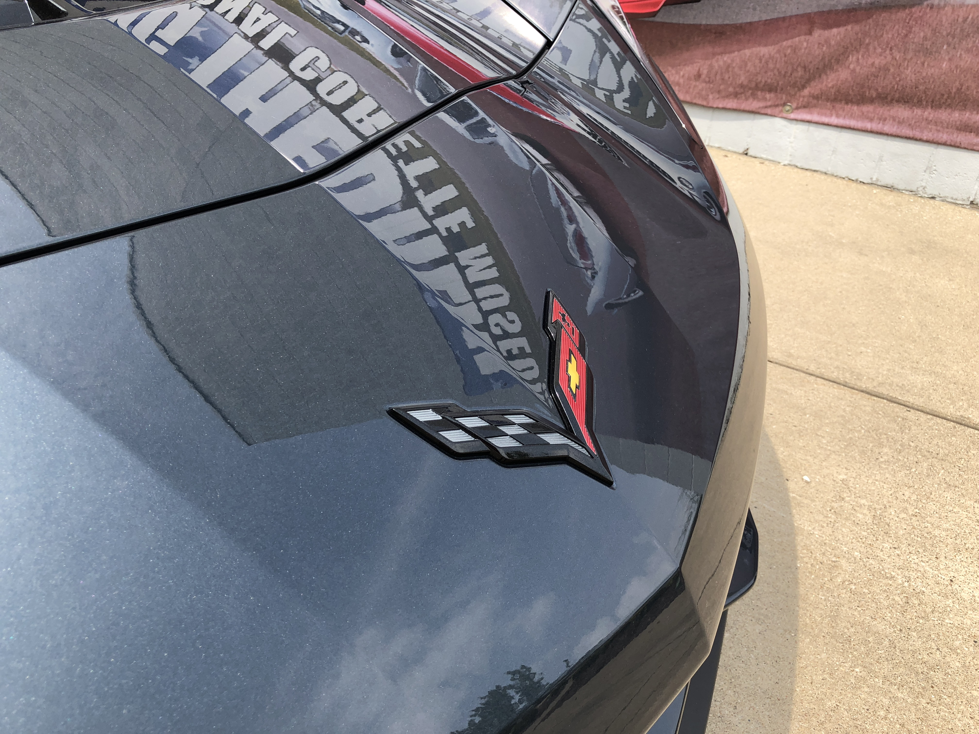 National Corvette Museum >> First Shadow Gray Corvette Delivered – National Corvette ...