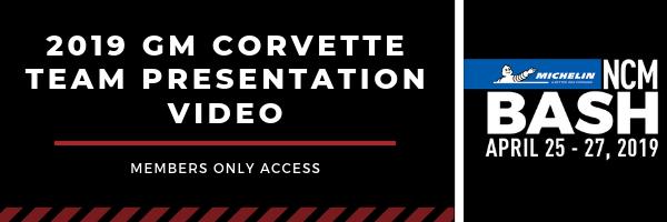 Access the GM Corvette Presentation