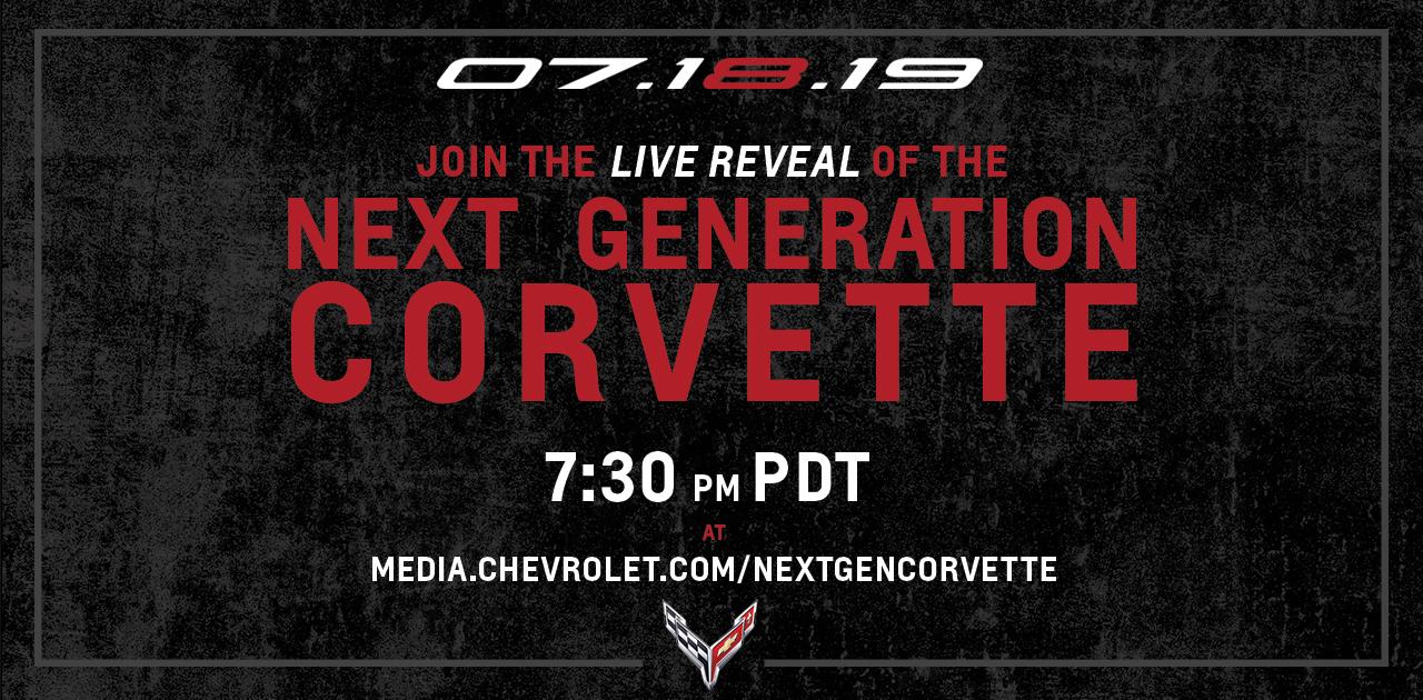 Corvette Reveal Live Stream