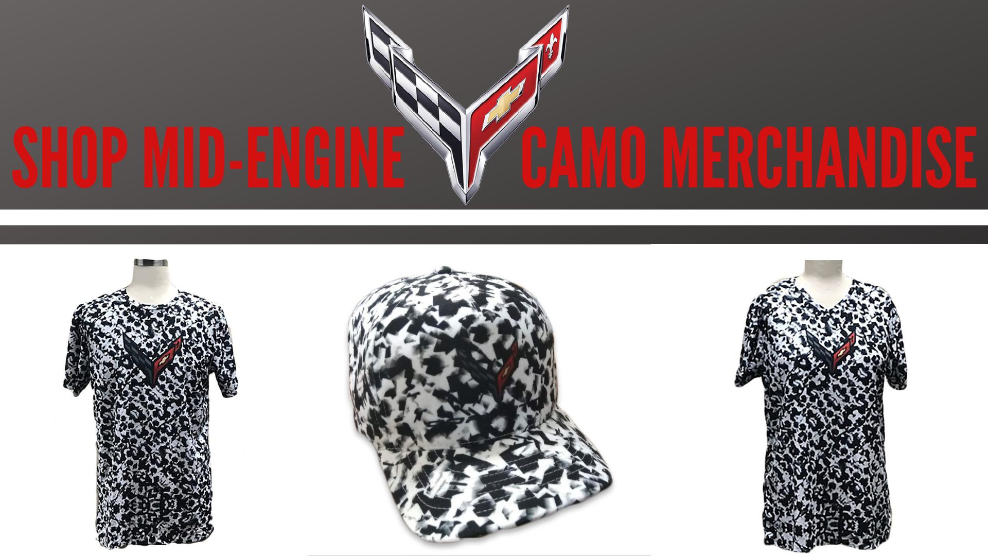 Mid-Engine Camp Merchandise