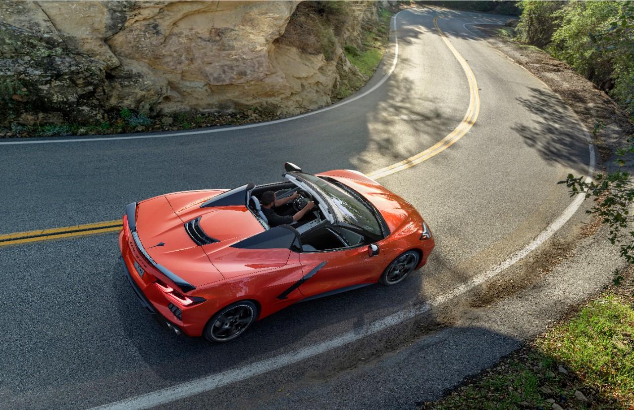 chevrolet introduces first hardtop corvette convertible