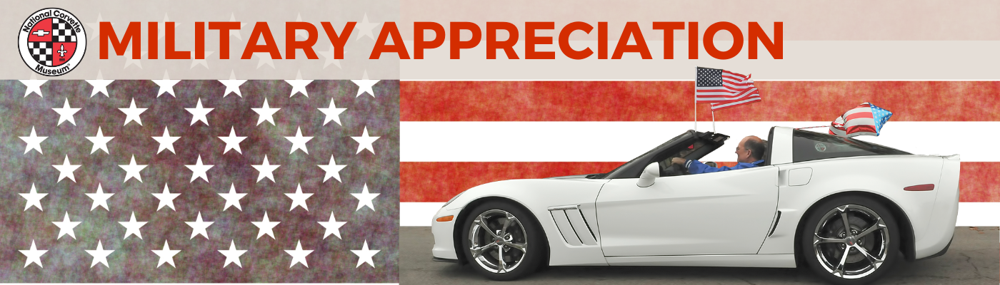 Military Appreciation Month at the National Corvette Museum